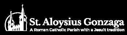 St. Aloysius Church logo.