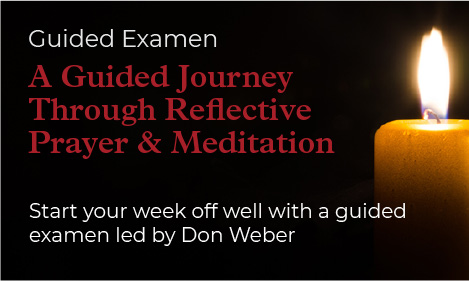 Guided Exam - a guided journey through reflective prayer and meditation.