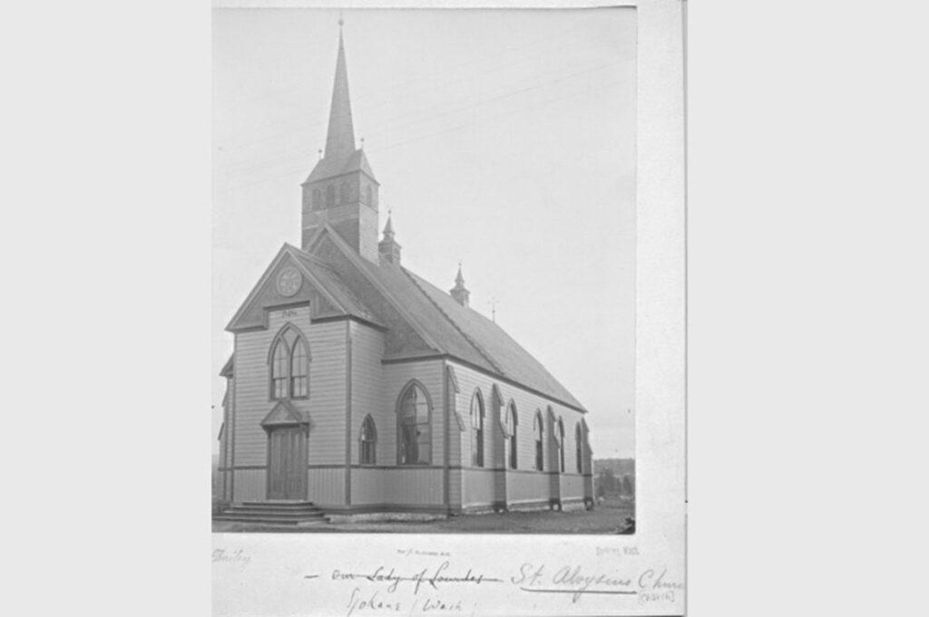 vintage church photo.
