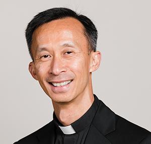 Father San Mai, S.J., Associate Pastor.